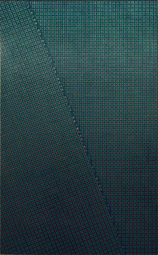 Mario NIGRO - Peinture - Strutturazione simultanea-cinetica con variazione
