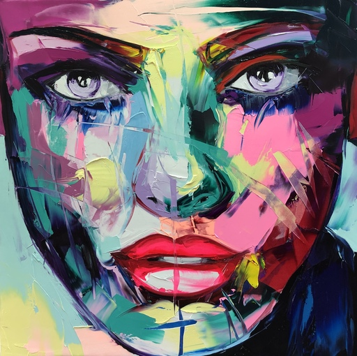 Françoise NIELLY - Painting - Noemy