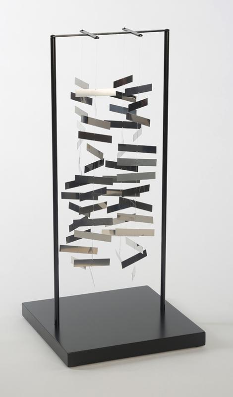 Julio LE PARC - Scultura Volume - Mobile rectangle dans l'espace