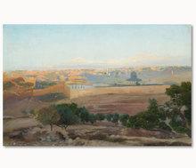 Gustav BAUERNFEIND - Peinture - Jerusalem
