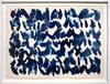 Ufan LEE - Disegno Acquarello - Untitled