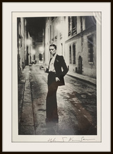 "Helmut NEWTON - Fotografia - ""Rue Aubriot Paris 1975"" 20x24 Signed Silver Gelatin Print"