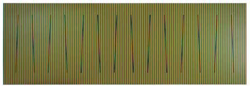 Carlos CRUZ-DIEZ - Pittura - Color al espacio serie churum 1