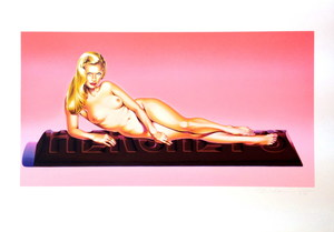 Mel RAMOS - Estampe-Multiple - Sweet Odalisque