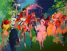 LeRoy NEIMAN - Print-Multiple - Queen at Ascot