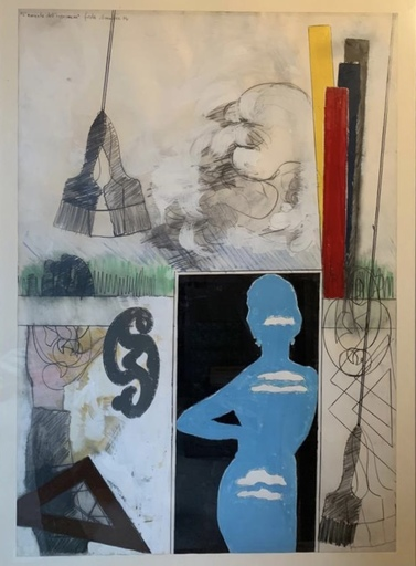 Tano FESTA - Painting - La moglie dell'ingegnere