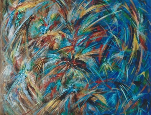 Didier ANGELS - Peinture - L'éclosion