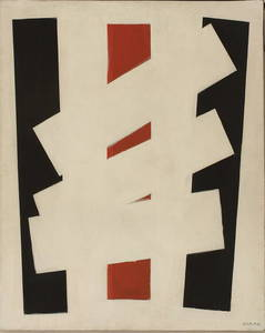 Augusto GARAU - Gemälde - Tre superfici anomale