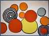 Alexander CALDER - Print-Multiple - Composition II, from The Elementary Memory