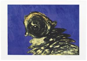 Otto PIENE - Print-Multiple - Zyklop Gelb