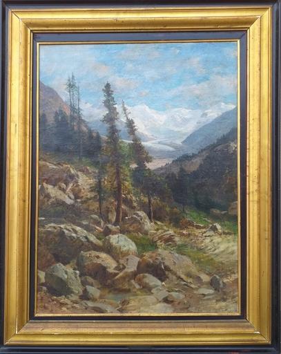 Ettore CUMBO - 绘画 - Alpi Rezie