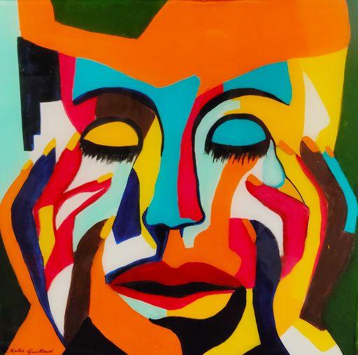Katie GUITTARD - Peinture - Méditation