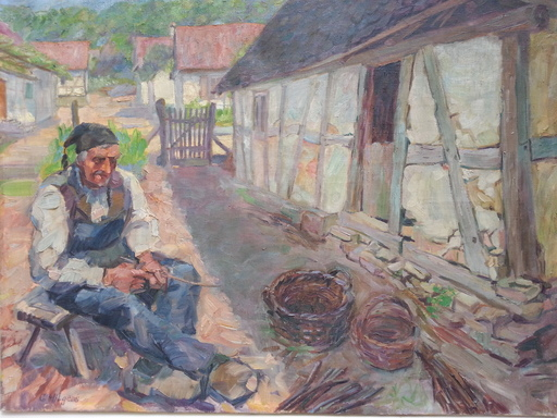Georg HILGERS - Pintura - Le Vannier