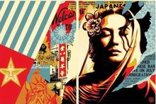 Shepard FAIREY - Print-Multiple - Welcome visitor