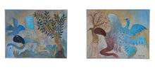 Manuel MENDIVE - Peinture - Diptych From The Series: Pequeñas Fugas