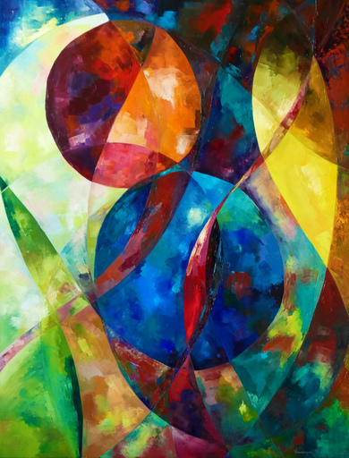 Véronique FARAVEL - Pintura - Vibrations