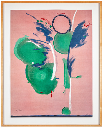 Helen FRANKENTHALER - Druckgrafik-Multiple - Mary Mary