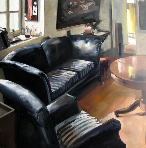 Christoff DEBUSSCHERE - Pintura - Mon salon