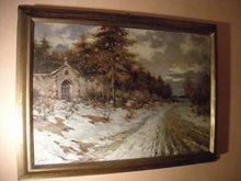 Ivan KARPOFF (1898-1970) - Paesaggio lombardo innevato
