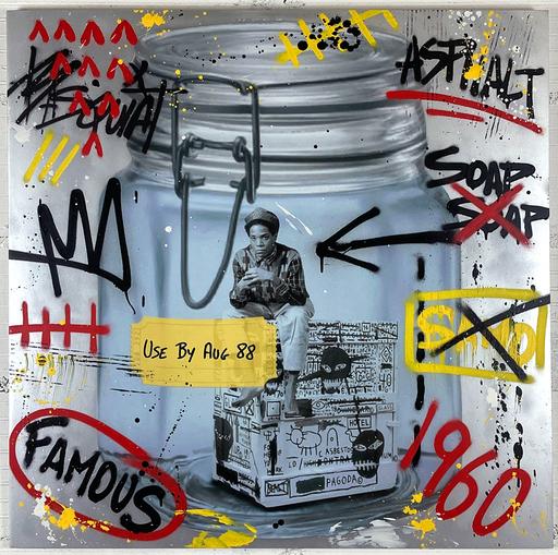 AÏROH - Pintura - Preserve collection - Basquiat