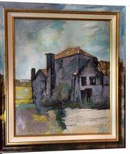 Robert LABOR - Painting - Contemporain-classic Pierrefonds
