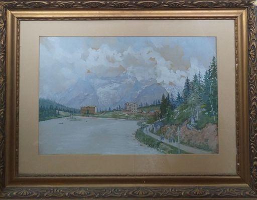 Georg GERLACH - 绘画 - Lago di Misurina Dolomiti Ampezzane