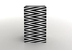 Marcello MORANDINI - Sculpture-Volume - Cupboard object – Mobile Costanza