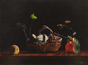 Raphaella SPENCE - Pittura - Ribbon of thought