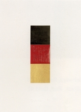 Gerhard RICHTER (1932) - Schwarz, Rot, Gold I