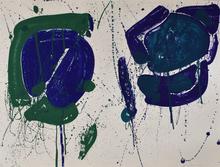 Sam FRANCIS - Estampe-Multiple - Blue-Green