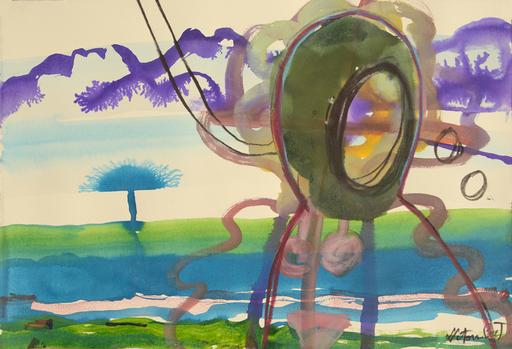 Sandra DETOURBET - Painting - Summertime