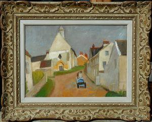 Robert LOTIRON - Pintura - La CHAPELLE d'ORGEVAL