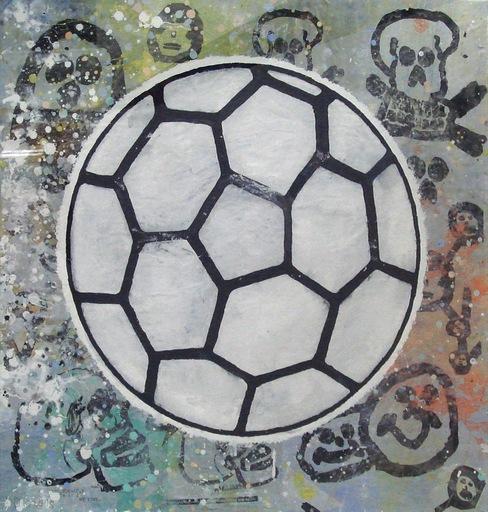 Donald BAECHLER - Pintura - Ball