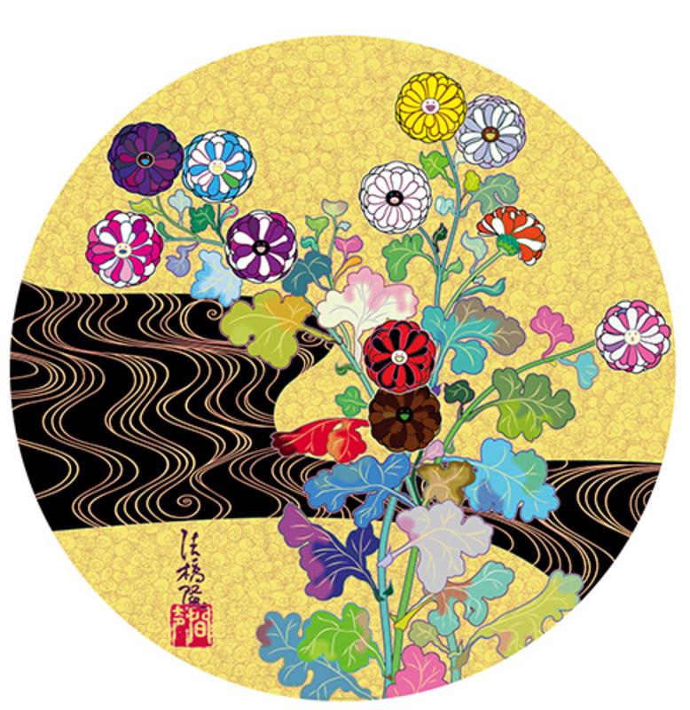 Takashi MURAKAMI - Grabado - The Golden Age: Korin - Kansei
