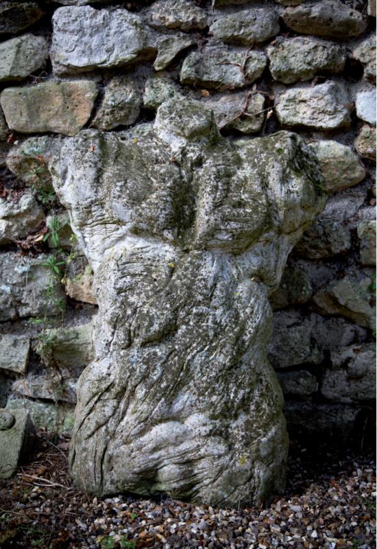 Serge MANSAU - Sculpture-Volume - Buste végetal