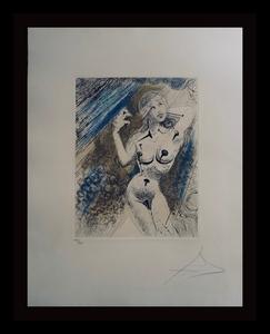 萨尔瓦多·达利 - 版画 - Marilyn