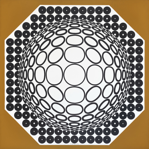 Victor VASARELY - Painting - clareo