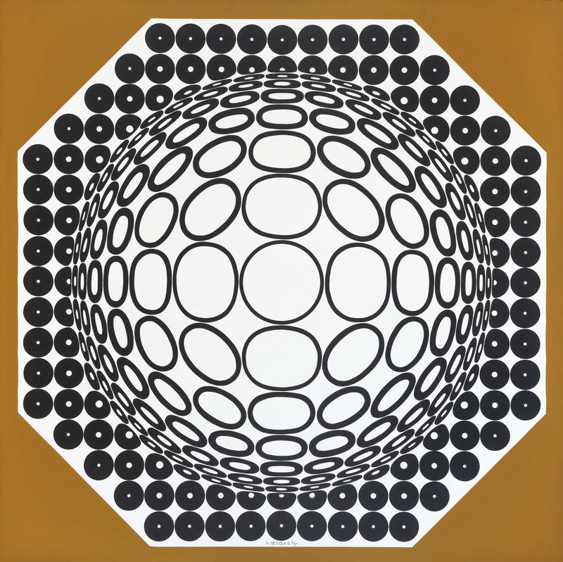 Victor VASARELY - Peinture - clareo