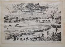 Lovis CORINTH - Grabado - Wide Landscape