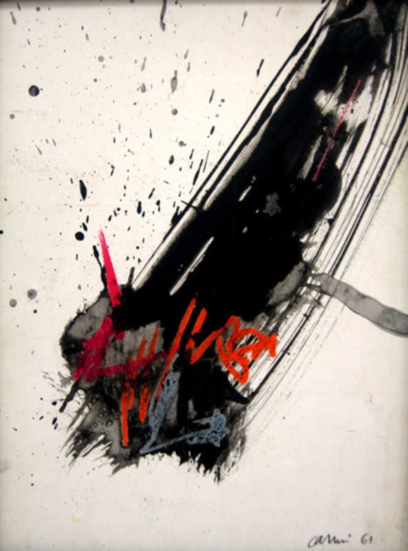 Eugenio CARMI - Peinture - senza titolo