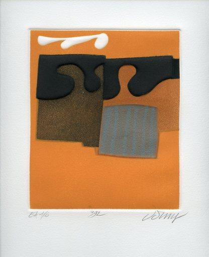 Bertrand DORNY - Grabado - GRAVURE 1979 SIGNÉE CRAYON NUM EA/6 HANDSIGNED NUMB ETCHING