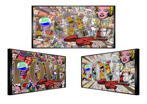 Patrick RUBINSTEIN - Painting - Mmmh
