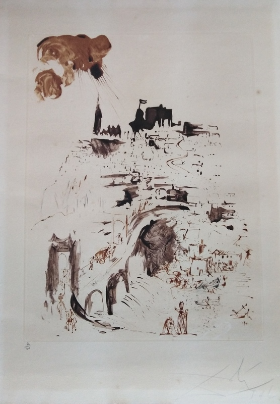 萨尔瓦多·达利 - 版画 - Toledo