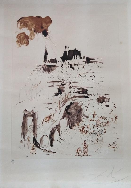 Salvador DALI - Print-Multiple - Toledo