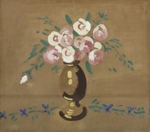 Maurice DE VLAMINCK, Bouquet de fleurs dans un vase