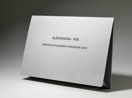 Aleksandra MIR - Print-Multiple - PORTFOLIO POLIGRAFA WORKSHOP 2010