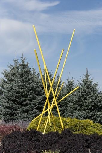 Shayne DARK - Sculpture-Volume - Full Tilt Yellow