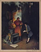 Norman Perceval ROCKWELL - Print-Multiple - BLACKSMITH SHOP