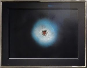 Otto PIENE - Peinture - Birth of a planet