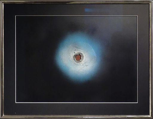 Otto PIENE - Painting - Birth of a planet